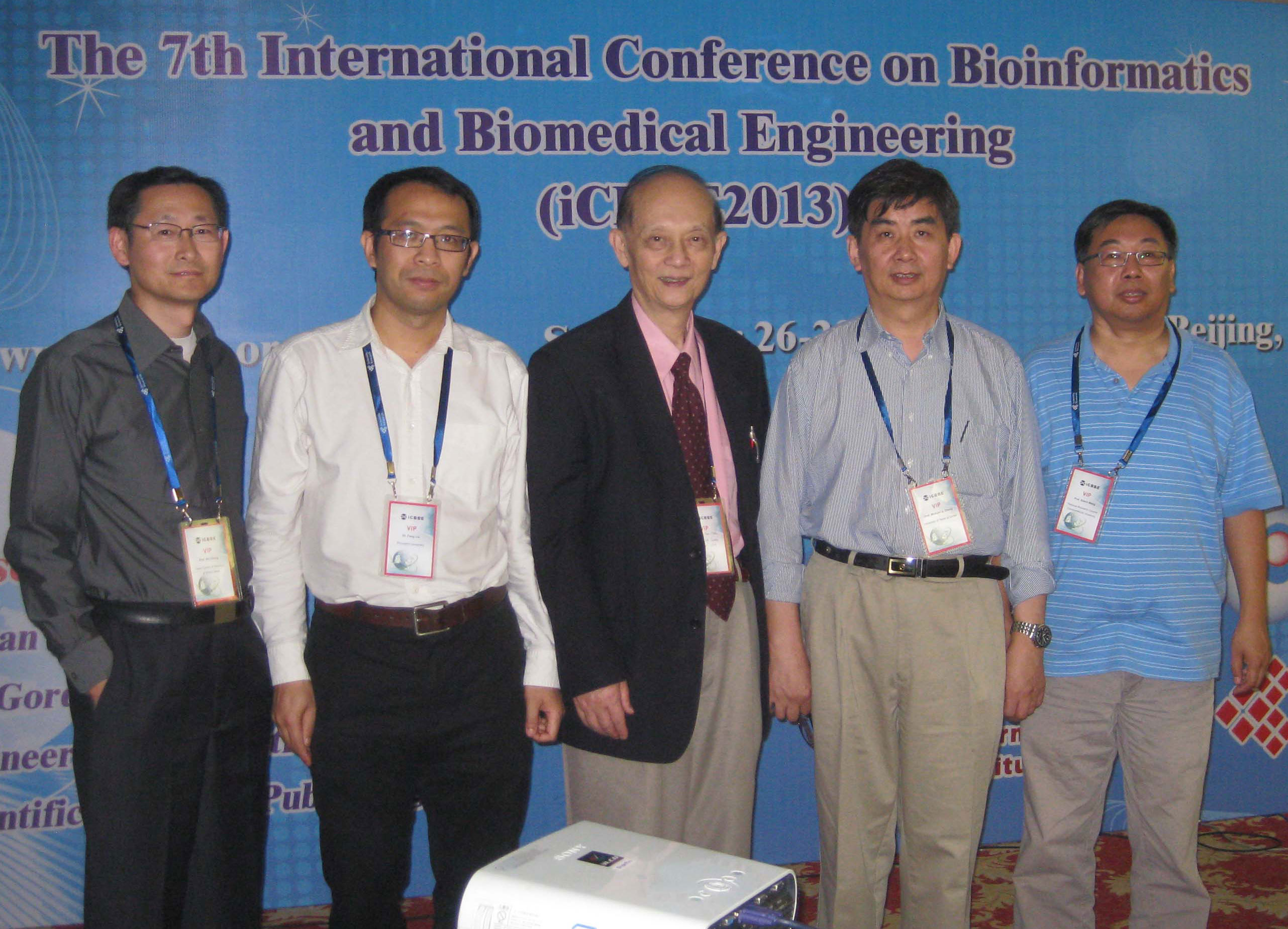 Plenary Speakers and Prof. Chou