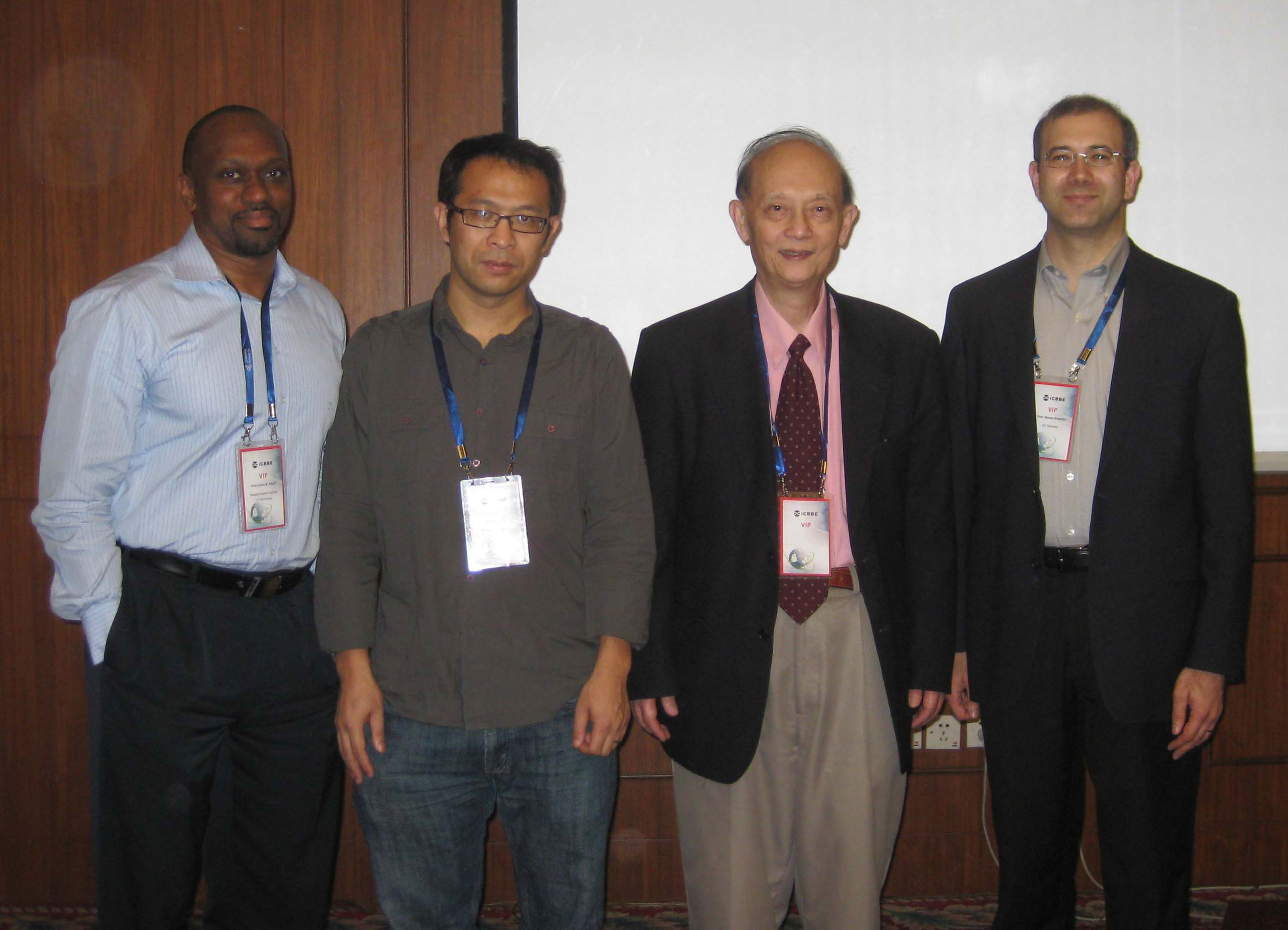 Plenary Speakers and Prof. Chou-2